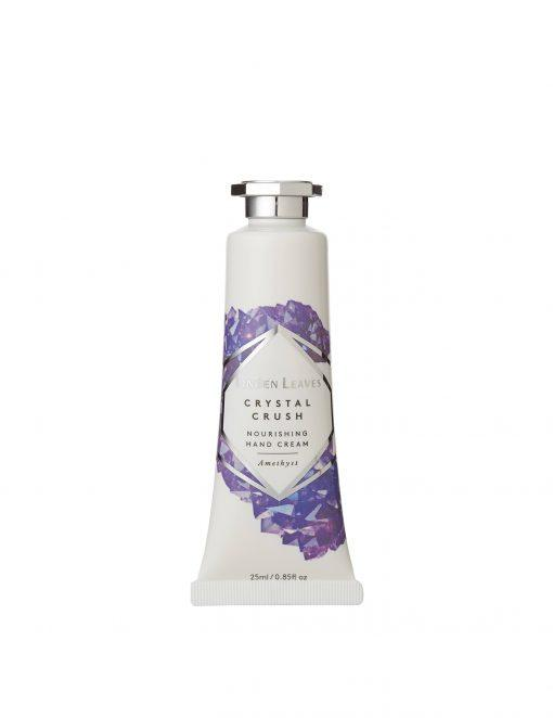 Linden Leaves Crystal Crush Amethyst Hand Cream – 25ml
