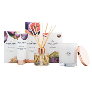Amber Fig Candle, Diffuser And Hand Cream