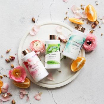 Bubble Bath Trio – Aqua Lily, Pink Petal, Green Verbena