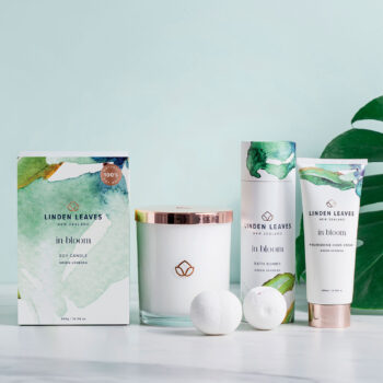 Green Verbena Bath Bombs, Soy Candle & Hand Cream