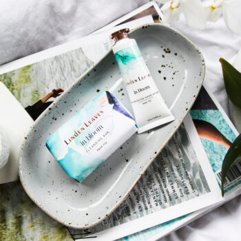 Aqua Lily Hand Cream And Cleansing Bar Set