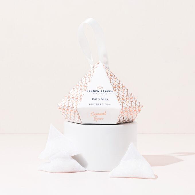 Limited Edition Caramel Spice Bath Bags