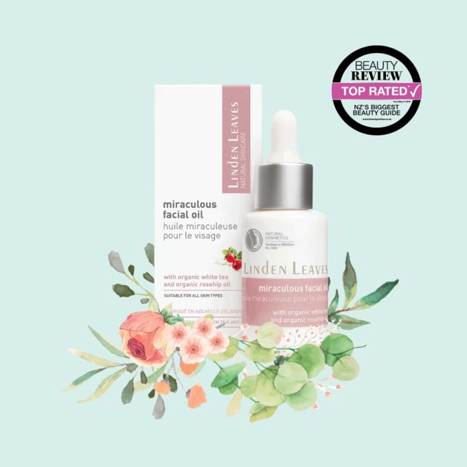 Miraculous Facial Oil With Organic White Tea And Organic Rosehip Oil