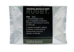 Linden Leaves Rugby Thermal Muscle Soak 60g Sachet $9.50