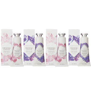Crystal Crush Hand Cream Boxed Set of 4 (25ml)