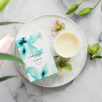 Aqua Lily Soy Candle