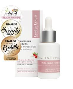 Linden Leaves_Natural Skincare Miraculous Facial Oil_25ml_awards