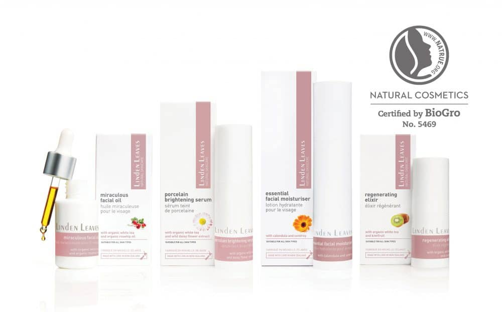 Linden Leaves Natural Skincare Range