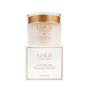 Linden Leaves Gold Bath Salts