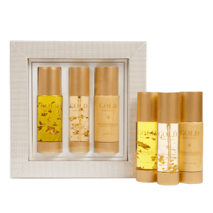 Linden Leaves Gold Oil Set