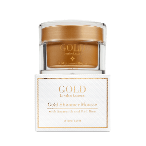 Linden Leaves Gold Shimmer Mousse