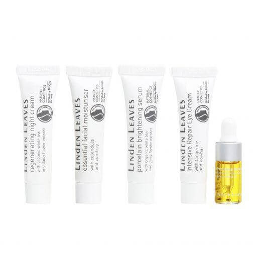 Linden Leaves Skincare Samples